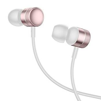 Baseus Encok Wire H04 Kulakiçi Mikrofonlu Kulaklýk Rose Gold