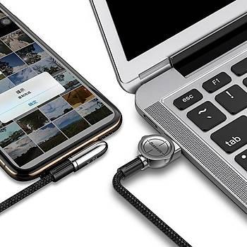 Baseus Exciting Serisi Ýphone Oyun-Data Þarj Kabl.1.5A 2M Siyah