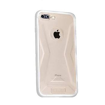 Lito Shockproof TPU Darbeye Dayanýklý iPhone 8 Plus Kýlýf Beyaz