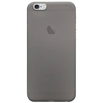 AntDesign iPhone 6 / iPhone 6S 0.3mm Ultra Ýnce Kýlýf Dark