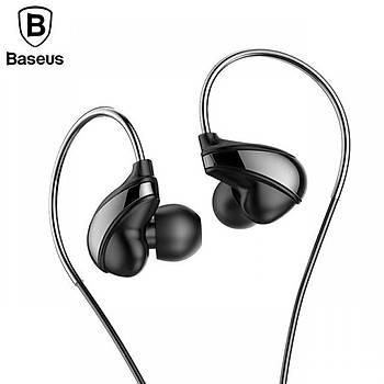 Baseus Encok Wire H05 3.5mm Kulakiçi Mikrofonlu Kulaklýk Siyah