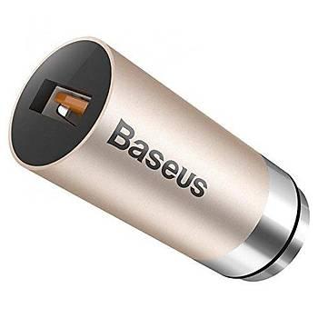 Baseus CarQ Serisi 3A Araç Þarjý Gold