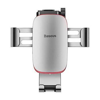 Baseus Metal Age Gravity Araç içi Havalandýrma Telefon Tutucu Gri