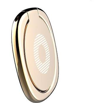 Baseus Privity Ring Bracket Telefon Tutucu Yüzük Gold