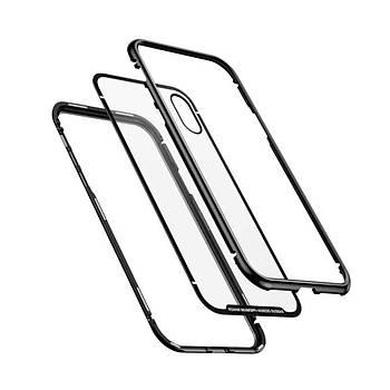 Baseus Magnetite iPhone XR 6.1 Cam Tasarým 360 Derece Kýlýf Siyah