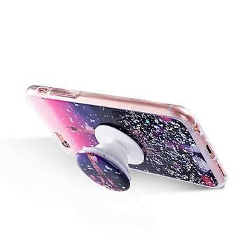 KingCase Vale iPhone 6 Yüzüklü Silikon Kýlýf Baskýlý