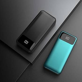 Xipin Powerbank 10.000 Mah Çift USB li IQ Þarj White