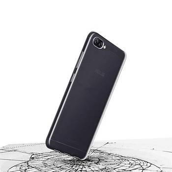 AntDesign Asus Zenfone 4 Max Süper Silikon Kýlýf Þeffaf