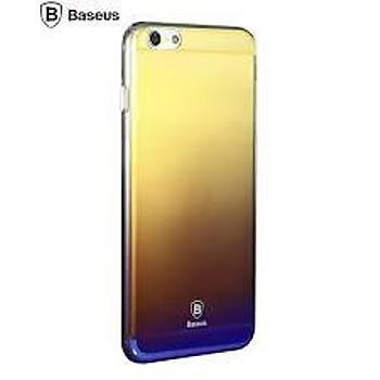 Baseus Glaze Serisi iPhone 6/6S Ultra Slim Transparan Kýlýf Siyah