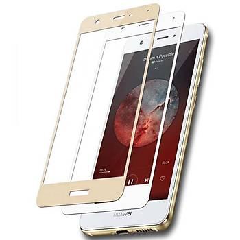 Lito 3D Full Cover Huawei P9 Lite Cam Ekran Koruyucu Ön / Gold
