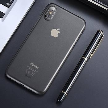 Benks Lollipop Protective Apple iPhone Xs 5.8 Kýlýf Solid Black