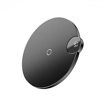 Baseus Digital Led Ekran Kablosuz Wireless Hýzlý Þarj Cihazý