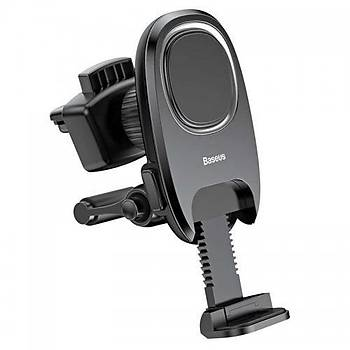 Baseus Xiaochun Magnetic Serisi Manyetik Araç Telefon Tutucu Siya