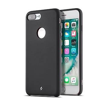 Ttec Smooth L Yumuþak Dokulu Apple iPhone 7 Plus Kýlýf Siyah