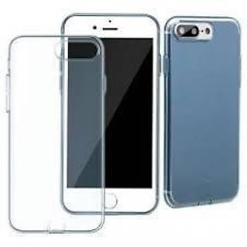 Baseus Slim Serisi iPhone 7 / iPhone 8 Transparan Kýlýf Mavi