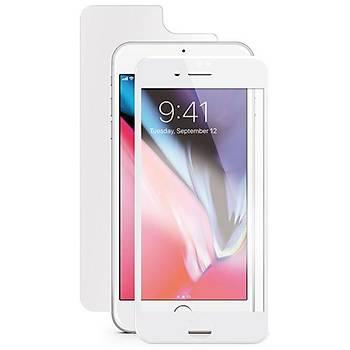 Ttec AirGlass EdgeColor Ön/Arka iPhone 8/7 Cam Ekran Koruyucu
