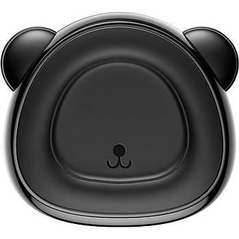 Baseus Bear Araç içi Havalandýrma Telefon Tutucu Mýknatýslý Siyah