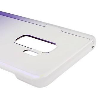 Baseus Glaze Galaxy S9 Plus Ultra Slim Transparan Kýlýf Mor