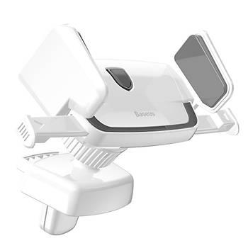 Baseus Robot Air Vent Kýskaçlý Araç Tutucu Beyaz