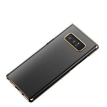Baseus Samsung Galaxy Note 8 Glitter Ultra Ýnce TPU Kýlýf Altýn