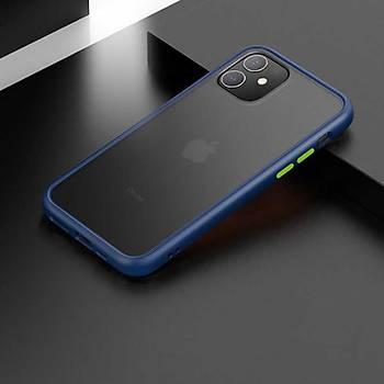 Benks Magic Smooth Serisi Apple iPhone 11 6.1 Kýlýf Blue