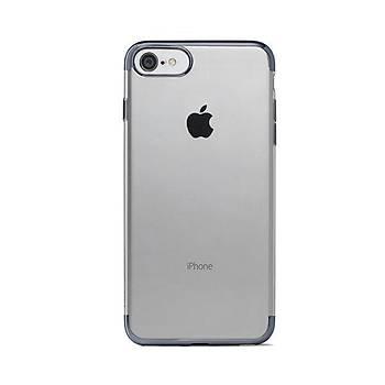 Ttec ChromeClear Apple iPhone 8 / iPhone 7 Kýlýf Uzay Grisi