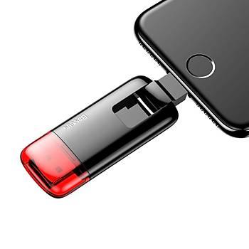 Baseus Red Obsidian Z1 Lightning Micro Usb 32Gb Harici Bellek