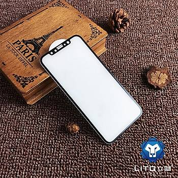 Lito Tempered Glass iPhone 7 Plus/8 Plus Cam Ekran Koruyucu Beyaz