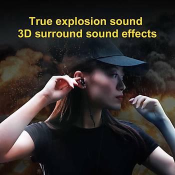 Baseus Immersive virtual 3D Oyun Kulaklýðý H08 Siyah