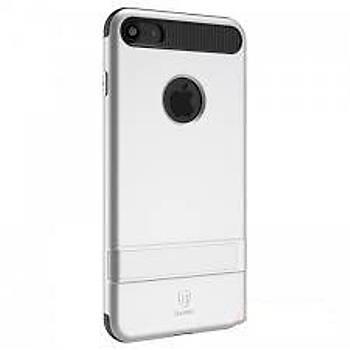 Baseus iBracket Serisi iPhone 7 / 8 Gizli Standlý Kýlýf Gümüþ