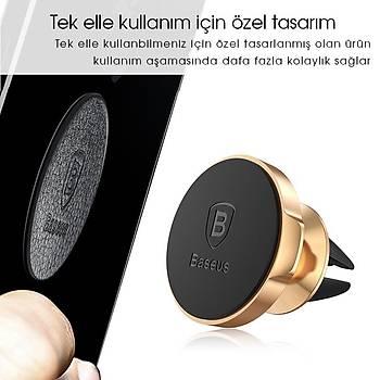 Baseus Small Ears Serisi Magnetic Bracket Mýknatýslý Araç Tutucu