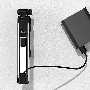 Benks Z07 Serisi Tüm Telefonlarla Uyumlu Þarjlý Tripod - Selfie Çubuðu