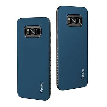 Roar Galaxy S8 Kýlýýf Rico Hybrid Case Petrol