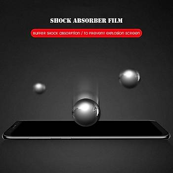 Piili 5D Tüm Yüzey Galaxy A8 2018 Plus Cam Ekran Koruyucu Siyah