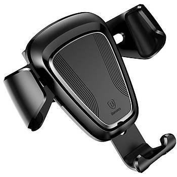 Baseus Gravity Serisi Evrensel Araç içi Telefon Tutucu Siyah