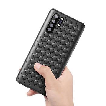 Baseus Weaving Serisi Huawei P30 Kýlýf Siyah