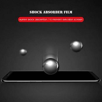 AntDesign 5D Tüm Yüzey Huawei P Smart Cam Ekran Koruyucu Siyah