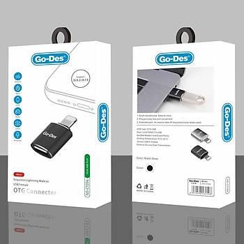 GoDes GD-CT056 USB to Lightning OTG Çevirici Adaptör