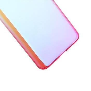 Baseus Glaze Samsung Galaxy S9 Ultra Slim Transparan Kýlýf Pembe