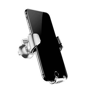Baseus Gravity Serisi Evrensel Araç içi Telefon Tutucu Gümüþ