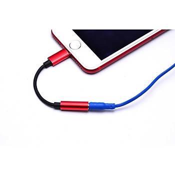 Go-Des GD-UC019 Lightning To 3.5mm Dönüþtürücü Aparat Gri