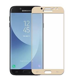 Lito 3D Full Cover Galaxy A5 2016 Cam Ekran Koruyucu Ön / Gold
