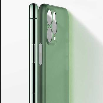 Benks Apple iPhone 11 Pro Max Lollipop Protective Kýlýf Yeþil