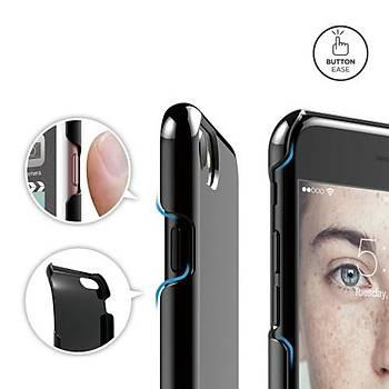 Elago iPhone 7 Plus / 8 Plus Slim Fit 2 Jean Indigo Kýlýf Siyah