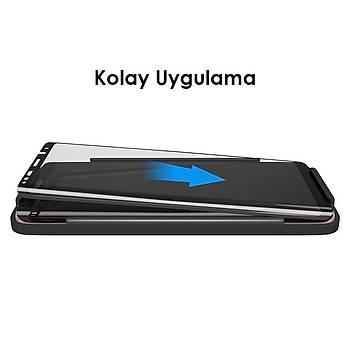 AntDesign 5D Tüm Yüzey Galaxy A8 2018 Plus Cam Ekran Koruyucu