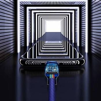 Baseus Yiven Serisi Type-C ve Ýphone Þarj ve Data Kablosu 2A 1Metre Siyah