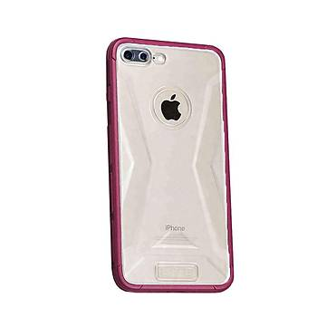 Lito Shockproof TPU Darbeye Dayanýklý iPhone 8 Plus Kýlýf Rose