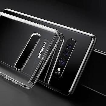 Baseus Shining Serisi Samsung Galaxy S10 Plus Kýlýf Transparan