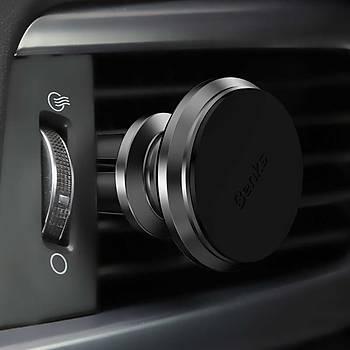 Benks H10 Air Vent Serisi Magnetic Araç Tutucu Grey
