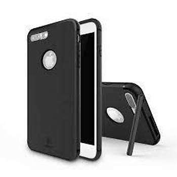 Baseus Hermit Bracket iPhone 7 Plus Stand Özellikli Kýlýf Siyah